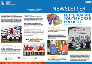 FYHP Newsletter 2014