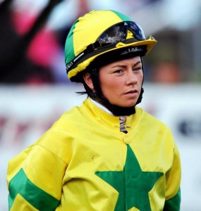 Samantha Wynne, South Island's leading apprentice with 43 winners in 2013-2014