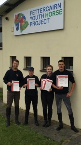 BHS Success L to R: Shane Kehoe, Lynn Campbell, Sabrina Layden and Richard Warren