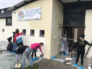 Deloitte Volunteers at work