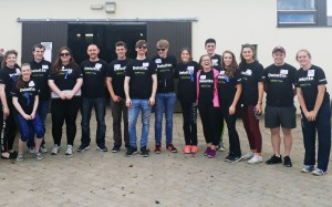Deloitte Volunteers all set to go