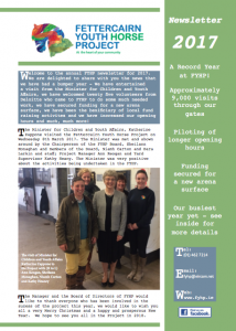 Newsletter 2017 Front Cover
