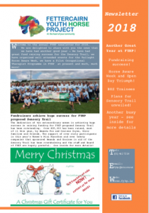 FYHP Newsletter 2018 Front Cover